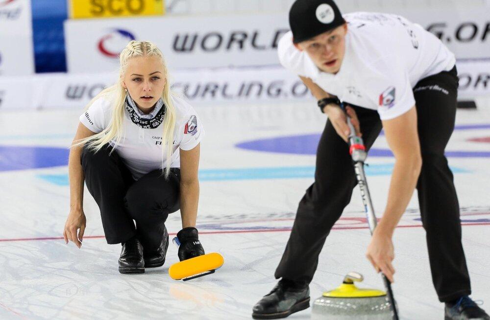 Marie Turmann ja Harri Lill jõudsid segapaarikurlingus teist korda MM-il kaheksa parema sekka.