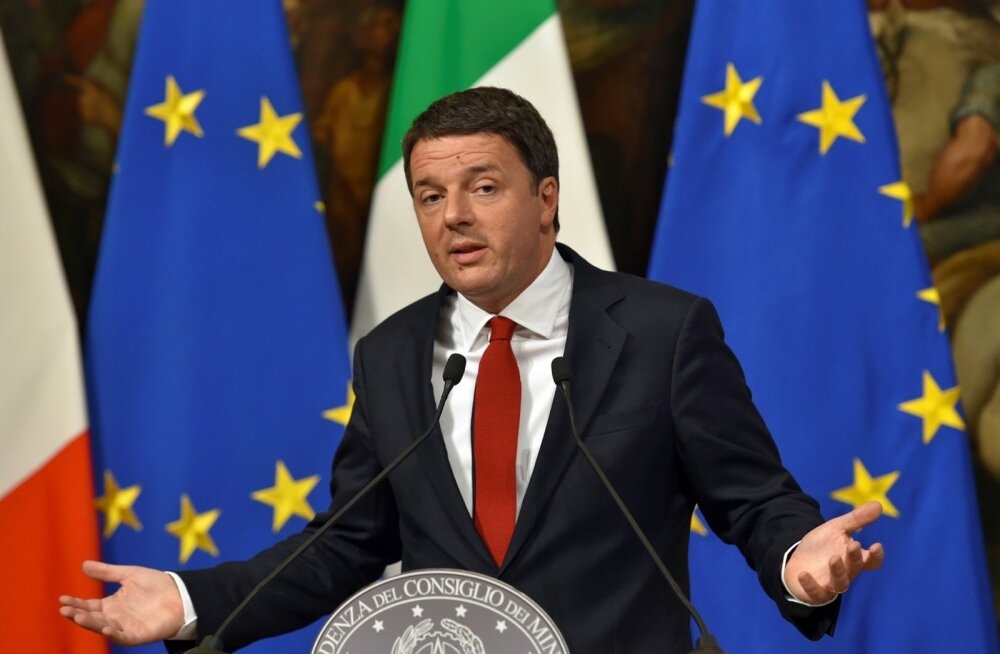 Itaalia peaminister Matteo Renzi.
