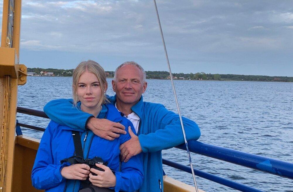 ISAGA Arminilt on Kati pärinud töökuse ja järjepidevuse. Kuna isa on oma töö tõttu olnud palju kodunt ära, on koosoldud hetked seda väärtuslikumad.