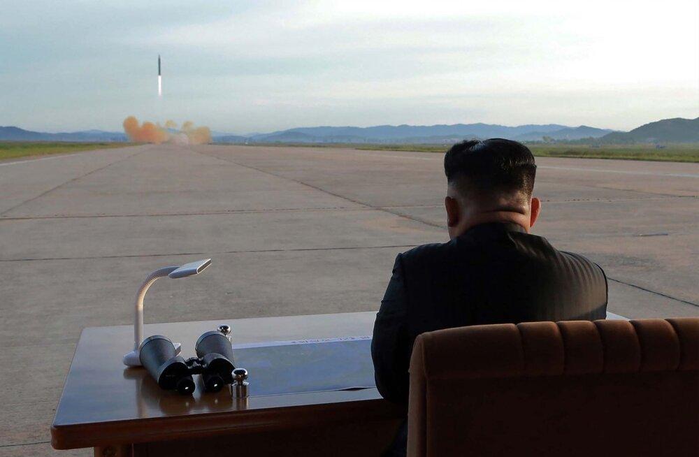 Sõprus Ameerikaga ohus? Põhja-Korea töötab uute rakettide kallal