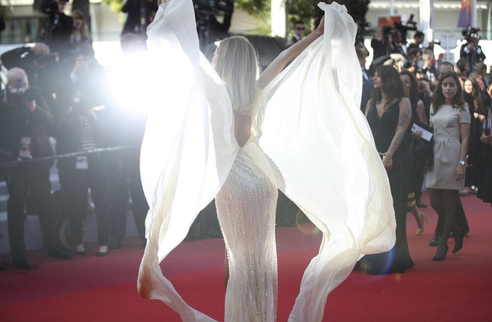 KLÕPS | Kui kaunis! Cannes'i filmifestivali punasel vaibal säras ka üks Eesti sportlane