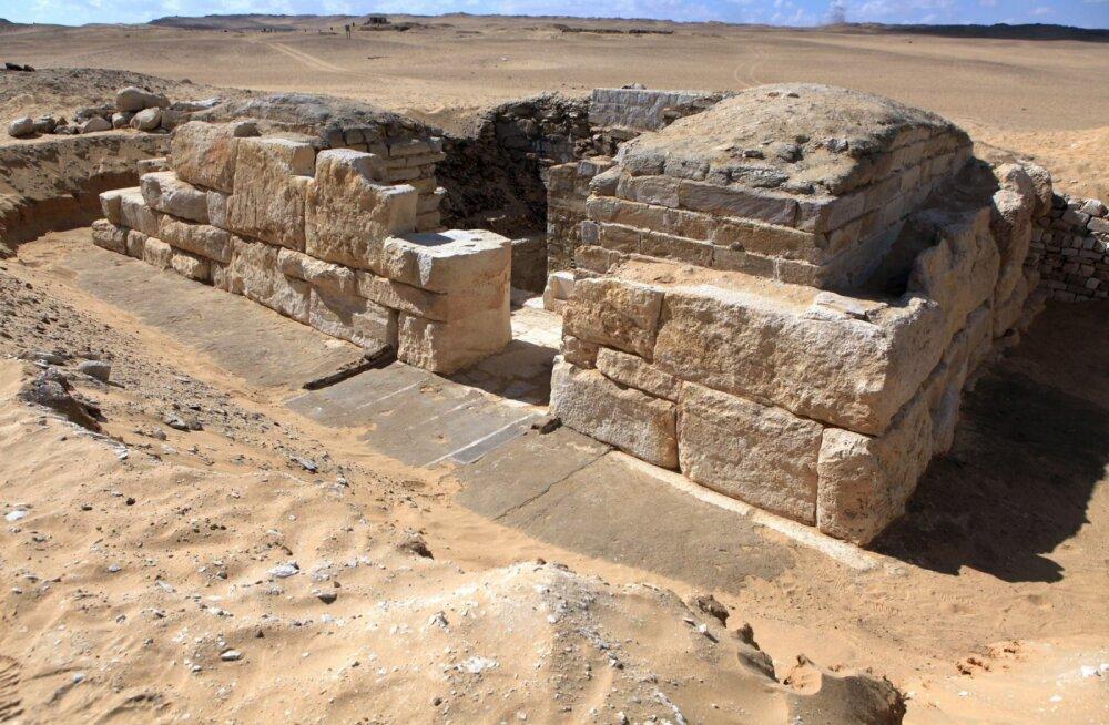 Tšehhi arheoloogide üllatav leid võib heita valgust Egiptuse esimestele püramiidirajajatele