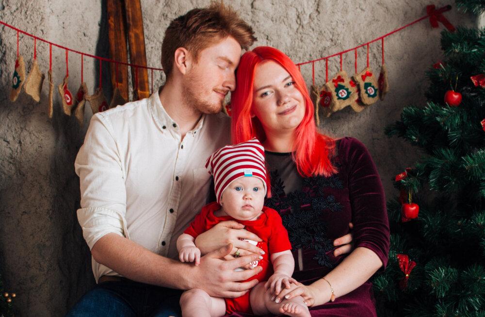 ФОТО и ВИДЕО: Дочь Сийри и Тониса — единственный родившийся в Эстонии потомок экс-премьера ЭР