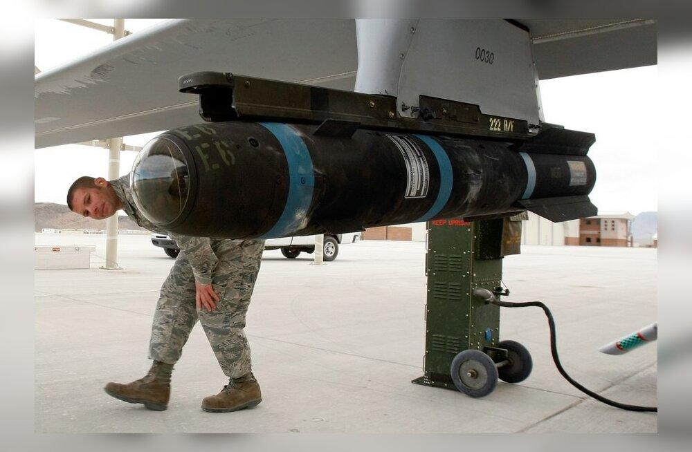 USA kiirendab rakettide ja droonide tarneid Iraagile