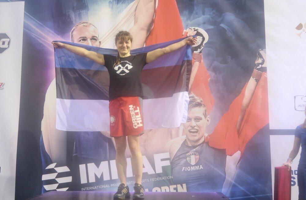 Helin Paara on Euroopa meister.
