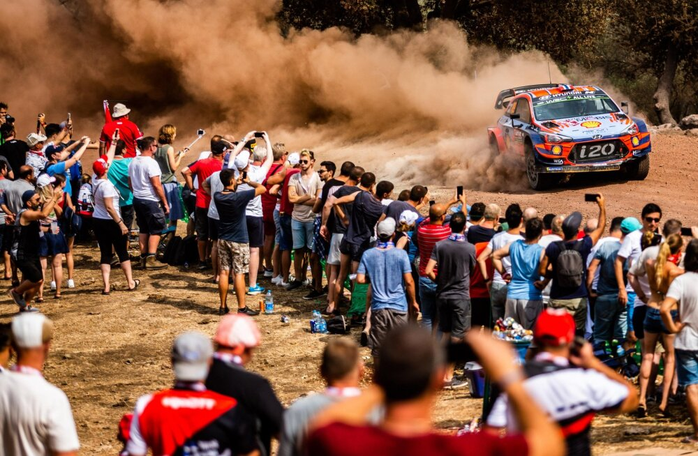 Rally Estoniast järgmine WRC etapp peetakse ilma publikuta