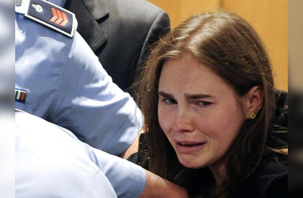 Ameeriklanna Amanda Knox mõisteti korterinaabri mõrvas õigeks