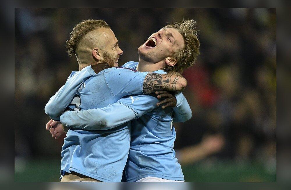 Malmö FF kindlustas teise järjestikuse Rootsi meistritiitli