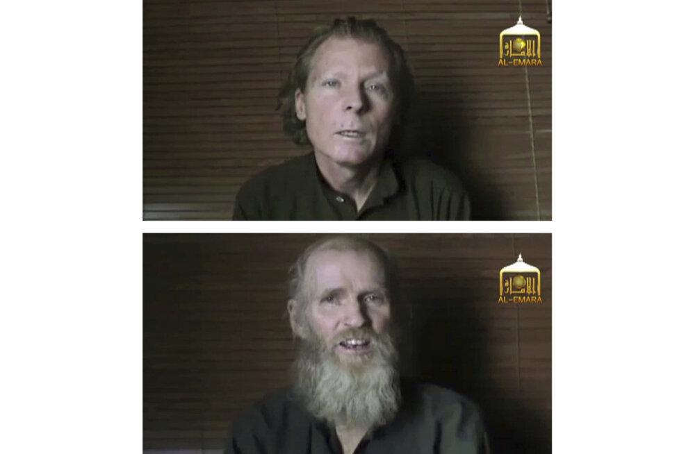 Vangide vahetuse käigus Talibaniga vabanesid USA ja Austraalia pantvangid