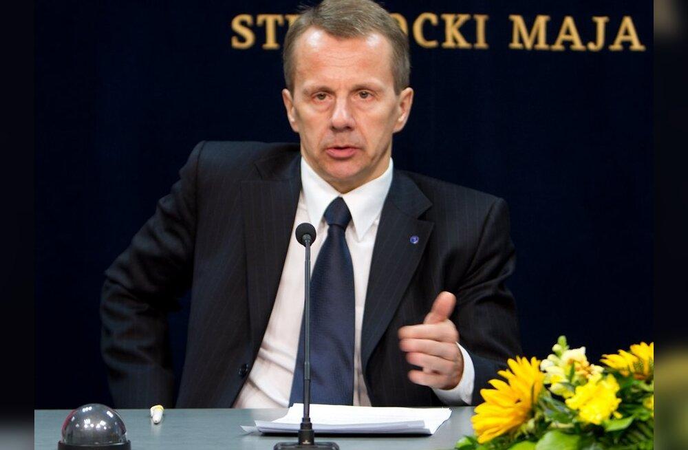 Ligi: seal, kus Keskerakond tegutseb, on alati Eesti huvid ohus