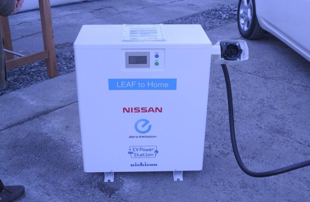 Uus Nissan Leaf elektriauto esitlus Oslos