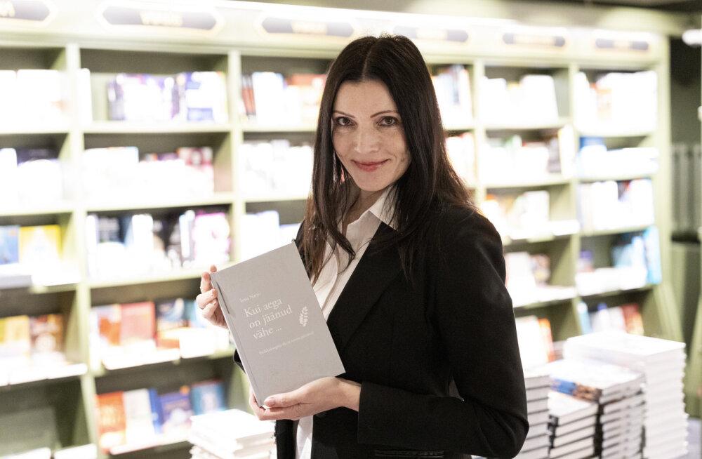 """GALERII: Psühholoog Inna Narro esitles oma raamatut """"Kui aega on jäänud vähe ..."""""""