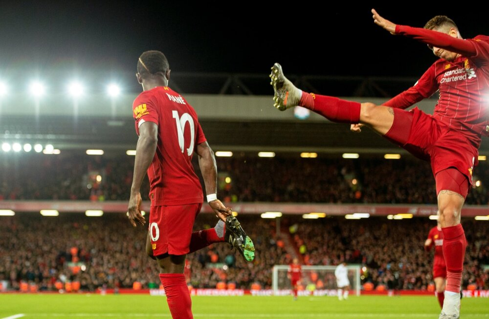 Liverpooli selle hooaja rekordid võivad minna kaduma.