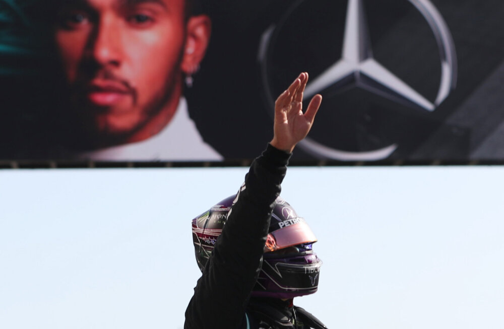 Ei midagi uut: Lewis Hamilton võitis Portugali GP kvalifikatsiooni