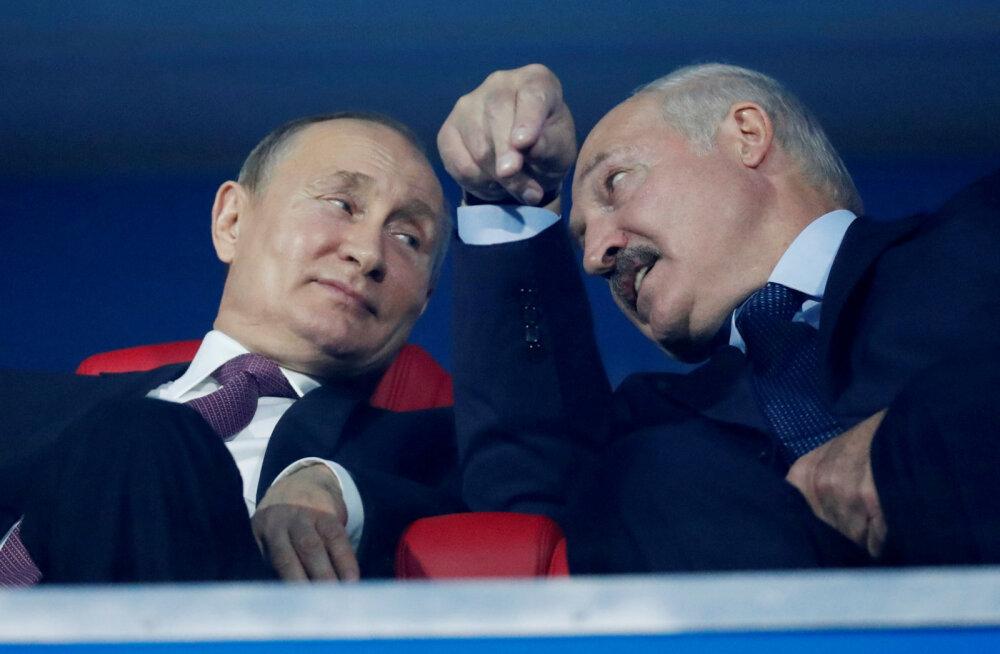 Lukašenka sõidab Moskvasse Putiniga kohtuma 14. septembril