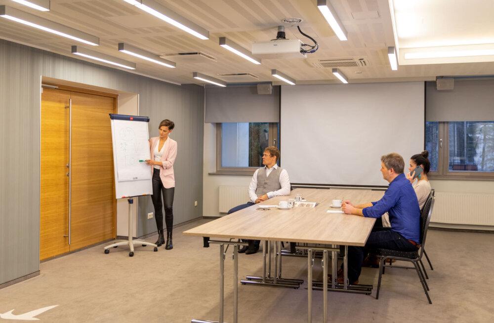 5 kohta, kust leida sobivam konverentsiruum meeskonnaürituseks