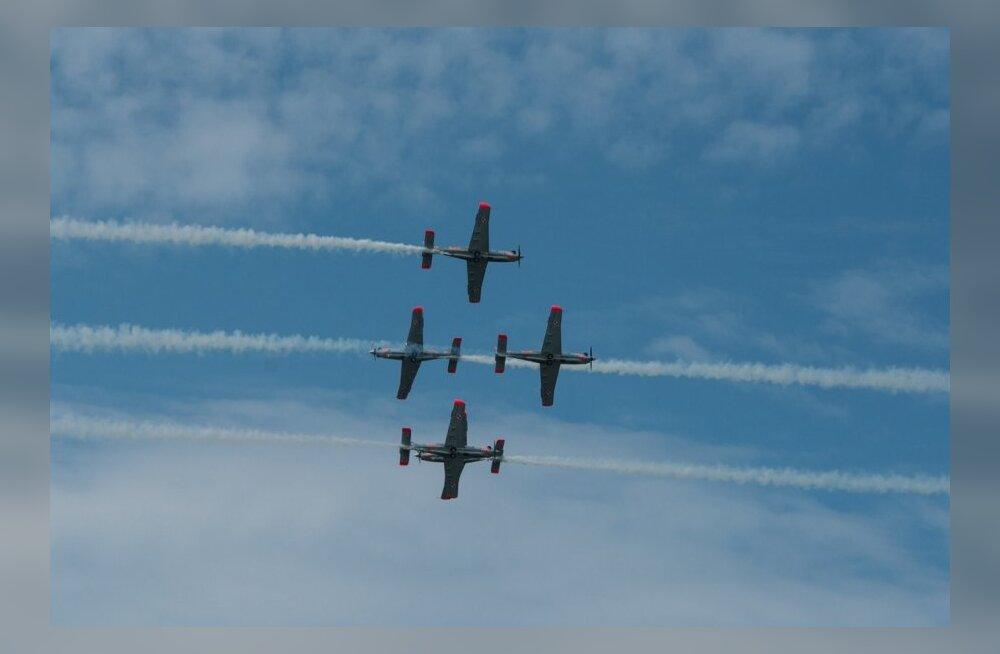 Õhuvägi, lennushow