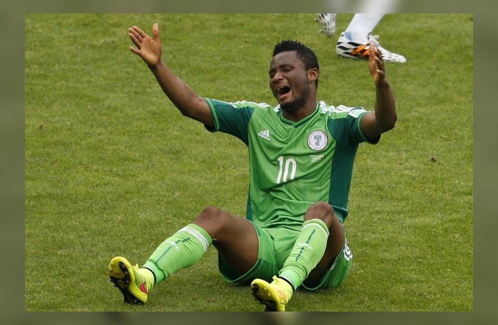 John Obi Mikel Nigeeria koondise särgis