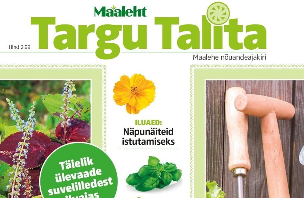 Aita koostada järgmise aasta Targu Talita raamatusarja!