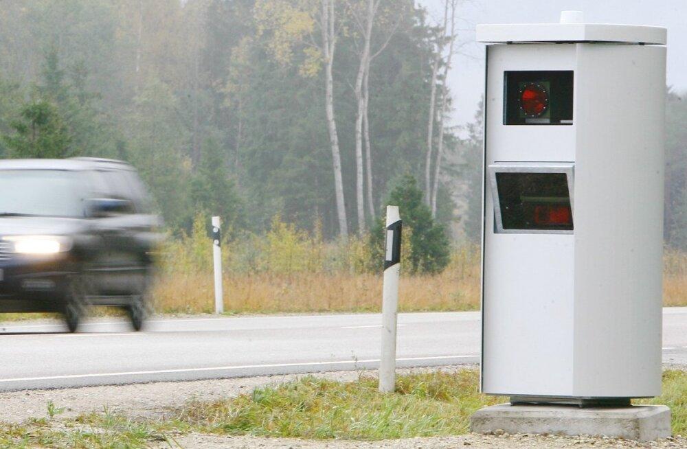 Soome politsei ei ole kiiruse ületamise teadetele Eestist veel ühtki vastust saanud