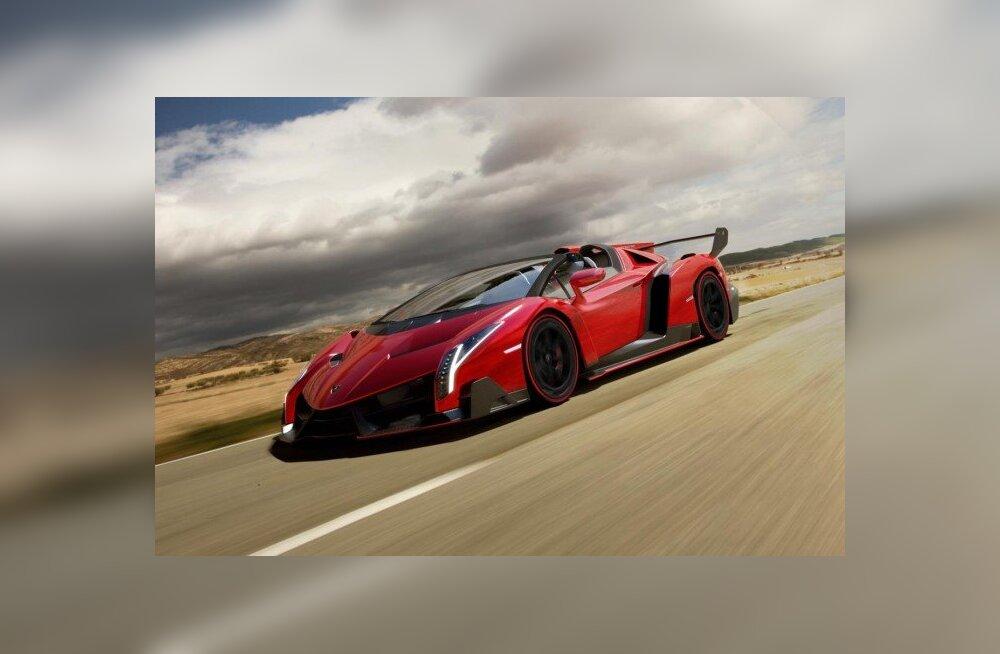 Ülikulukast autost tekkis puudus... Lamborghini lasi juurde toota!