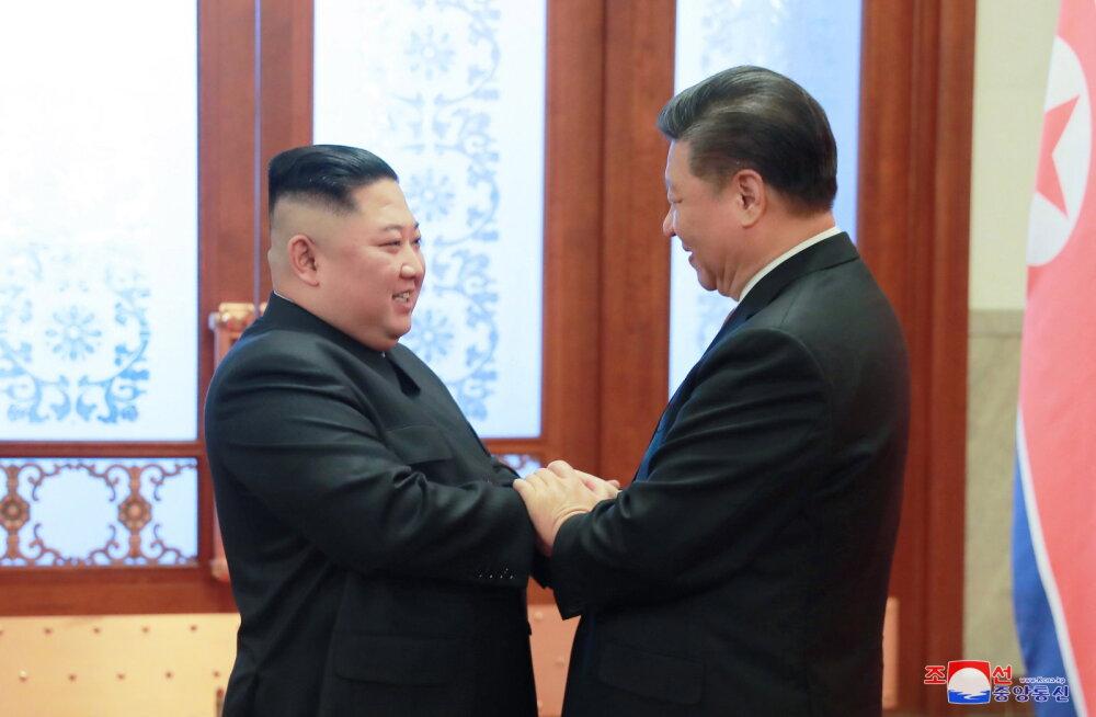Hiina president Xi külastab sel nädalal Põhja-Koread