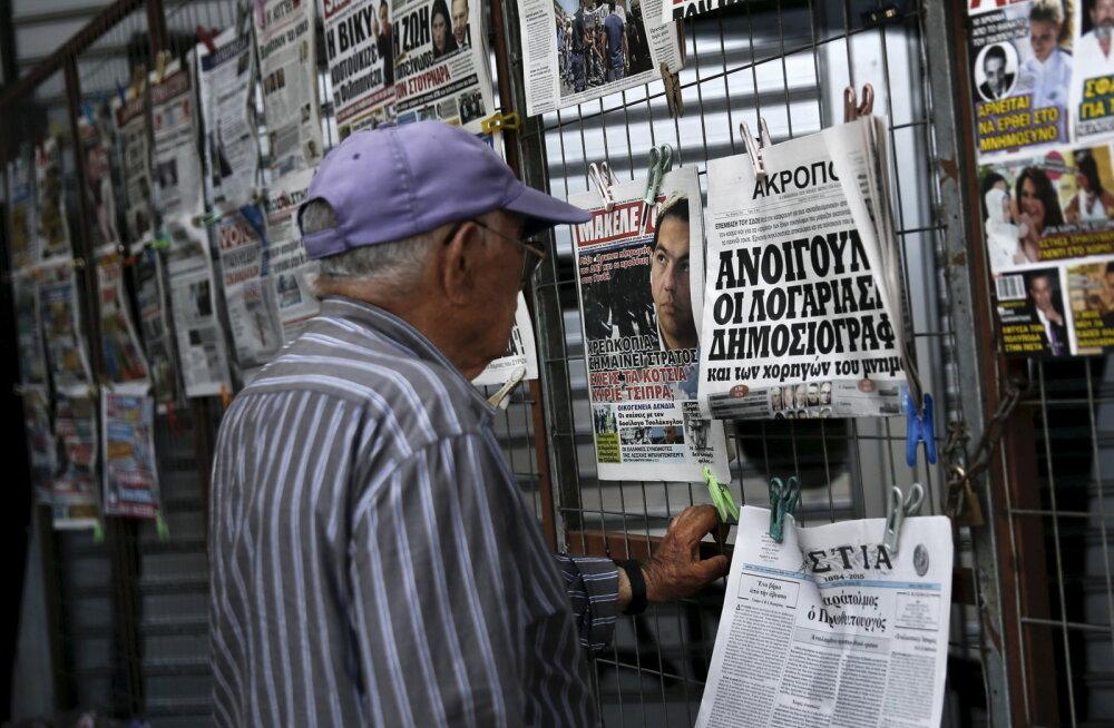 Kreeka keskpankur: pangandussüsteem on stabiilne