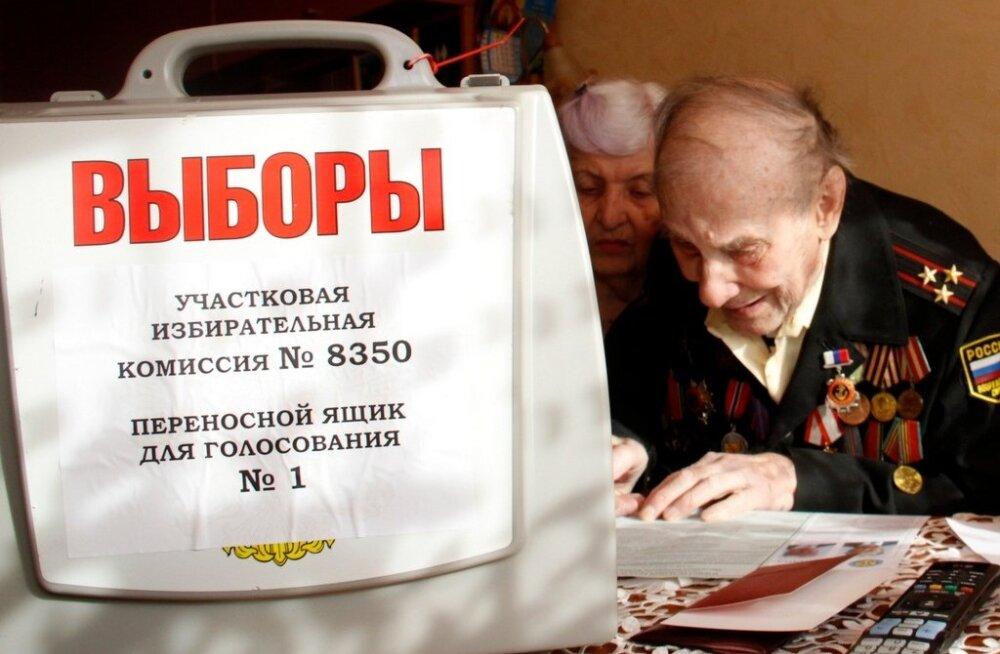Venemaa presidendivalimised. Kohtla-Järve