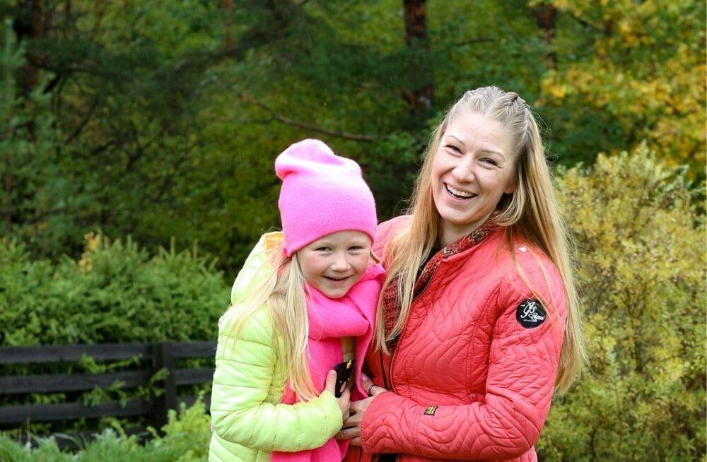 Juba paar päeva pärast antibiootikumikuuri algust tundis Marju jälle oma tütre ära – Rebekal oli taas sära silmis ja naeratus näol.