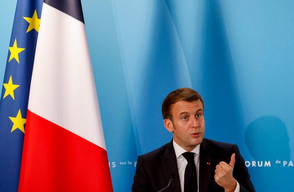 Macron: Prantsusmaa parim partner Malis on Eesti
