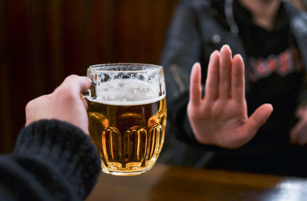 Head põhjused, miks peaksid alkoholi joomisest vähemalt kuuks ajaks loobuma