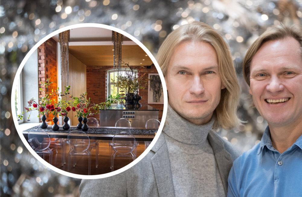 FOTOD | Taivo Piller ja Mart Haber panid oma luksusliku kodu üürile: kogu sisustus jääb korterisse