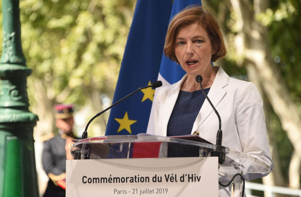Prantsuse kaitseminister: hindame Eesti kaitseväelasi, kuna nad käituvad rünnaku käigus professionaalselt