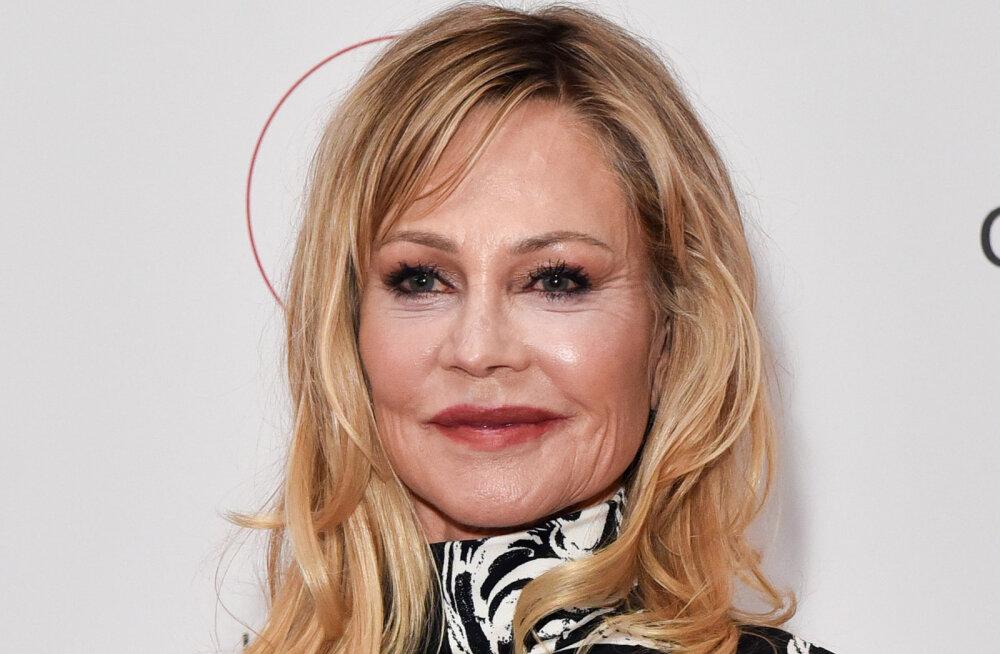 KLÕPS   Vau, milline vorm! 62-aastane Melanie Griffithi pesupilt teeb silmad ette ka poole noorematele