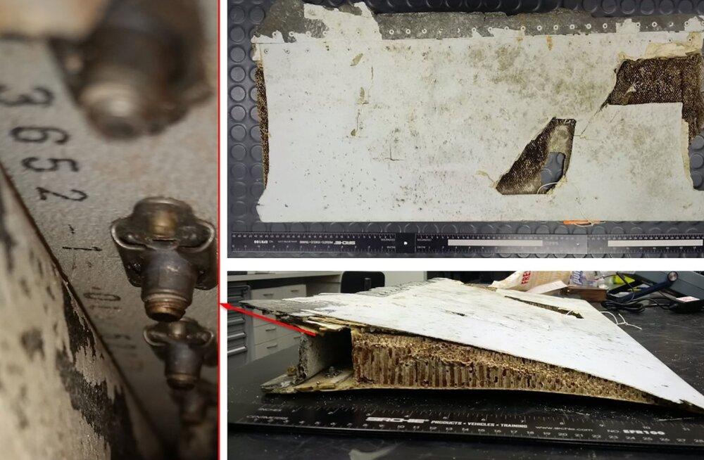 Malaisia teatel on Mauritiuselt leitud lennukitükk pärit Malaysia Airlinesi kadunud lennuki küljest