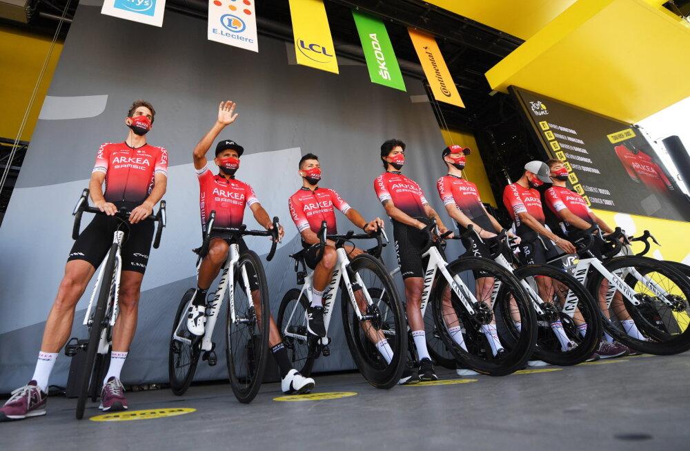 Prantsusmaa politsei alustas Tour de France'il osalenud tipptiimi osas uurimist, kaks inimest on võetud vahi alla