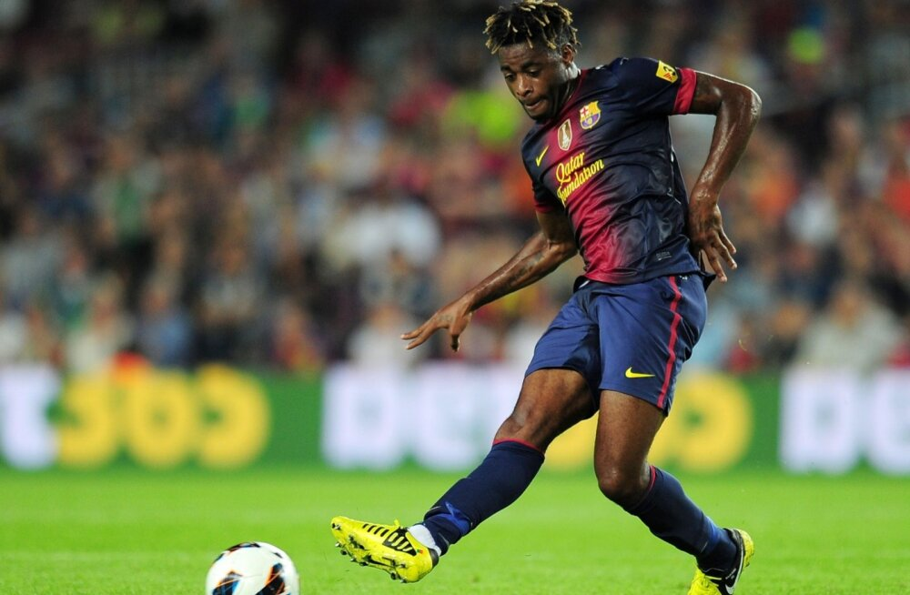 Alex Song FC Barcelona särgis.