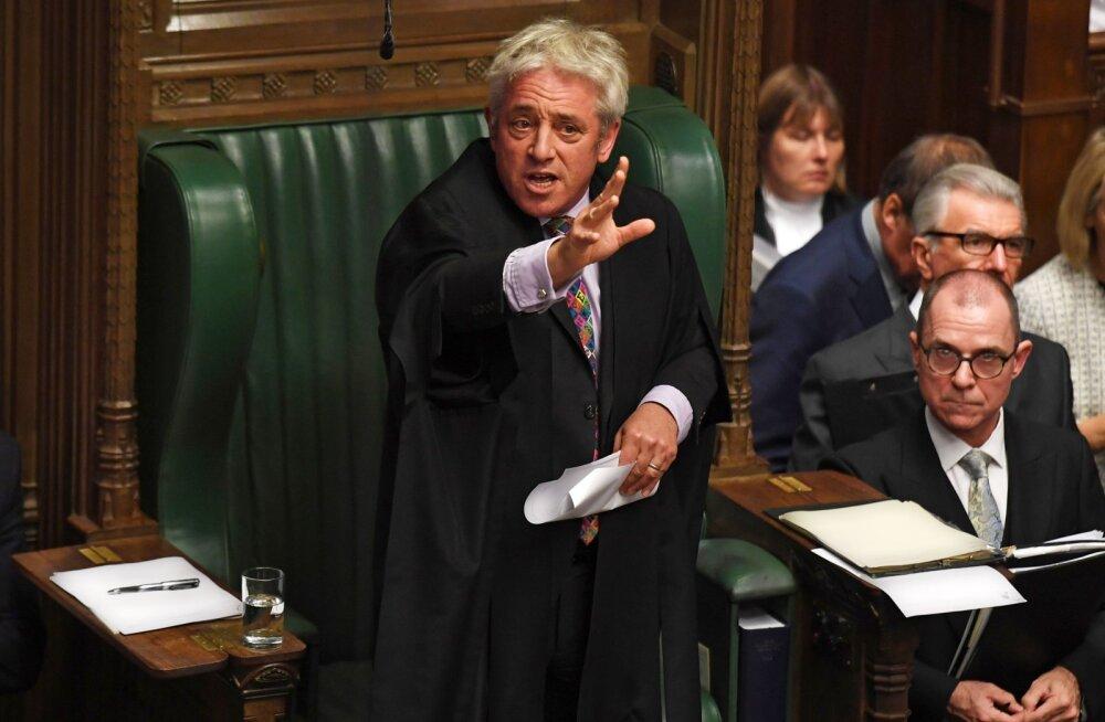 Ühendkuningriigi parlamendi spiiker blokeeris uue hääletuse Brexiti leppe üle