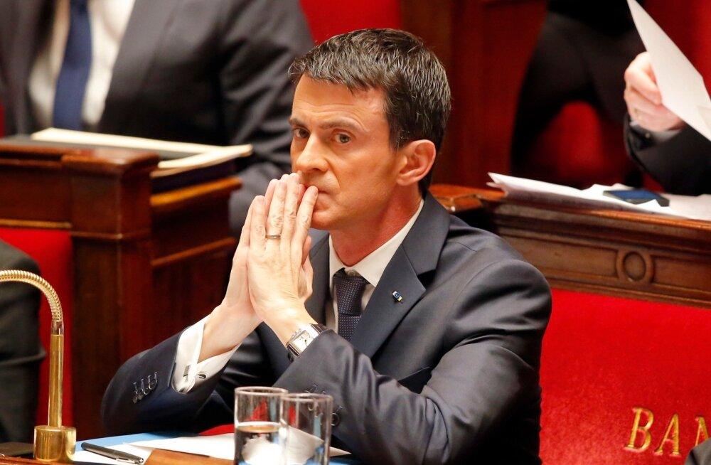 Prantsusmaa peaminister: terroristid võivad kasutada keemiarelva