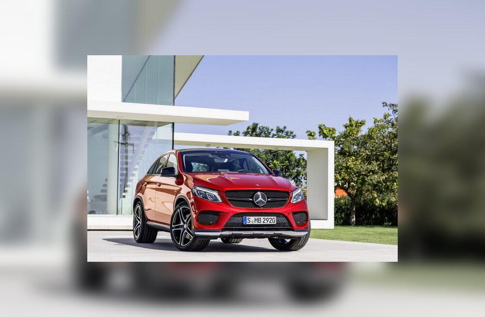 Mercedes-Benz tutvustas maasturit GLE Coupe: vaata konkurenti BMW X6-le