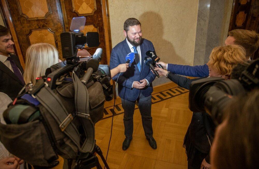 Kaimar Karu annab intervjuusid