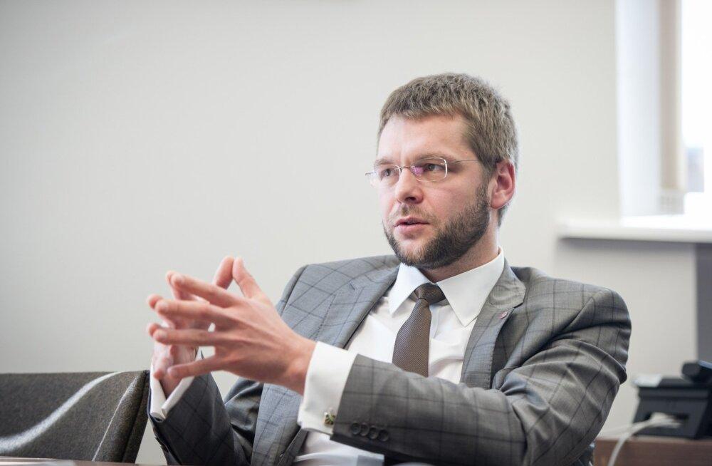 Ossinovski eeldab, et suhkrumaks kehtestatakse 2019. aastast