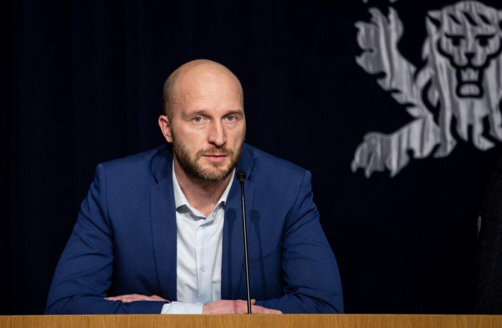 Pressikonverents ministeeriumite ühishoones 18.03.2020