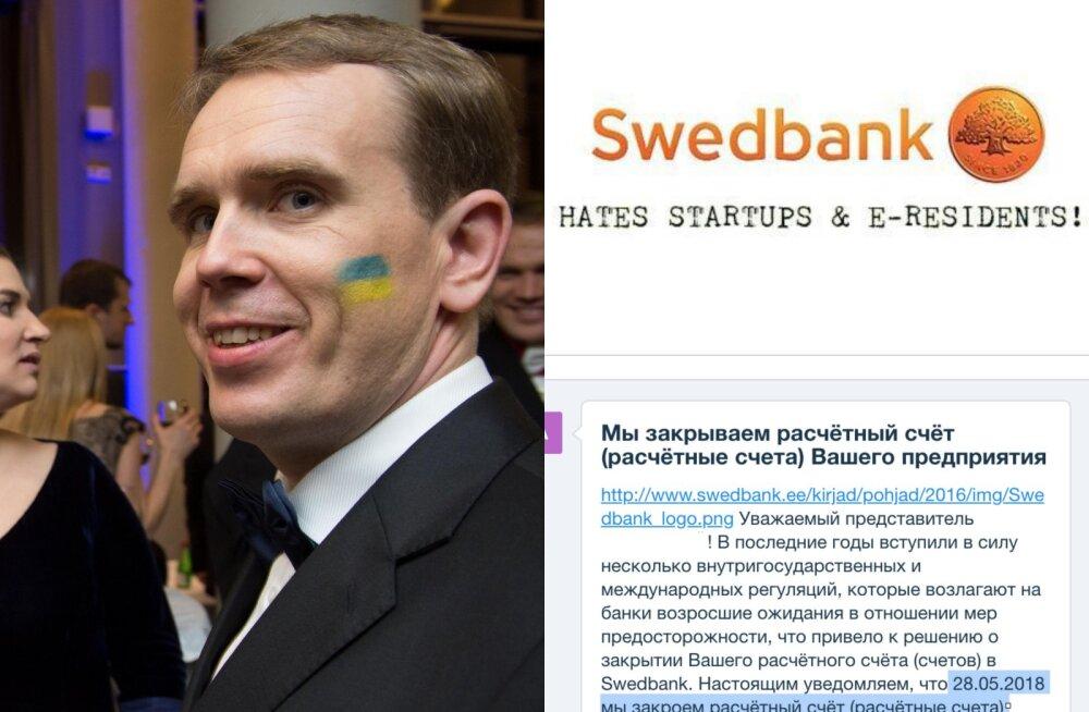 Eesti start-up kogukond on pangakontode massilise sulgemise pärast marus