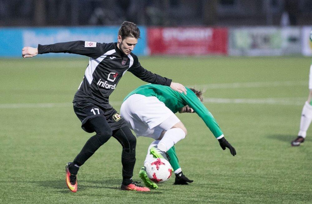 FC Levadia võttis jalgpalli Premium liiga neljandas voorus hooaja kolmanda võidu, alistades võõrsil tiitlikaitsja Tallinna FCI 1:0
