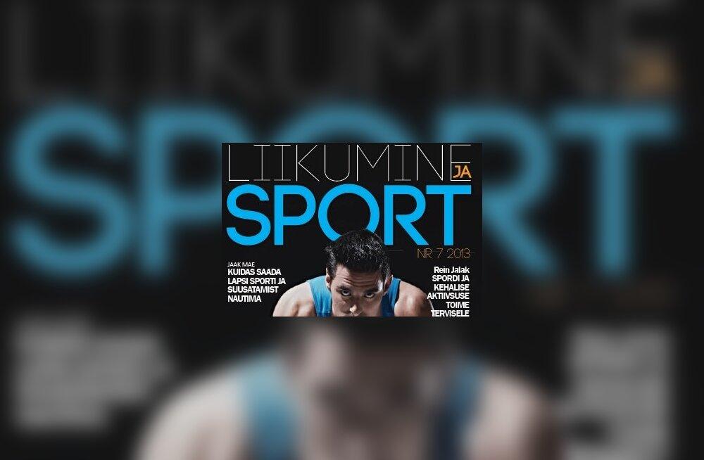 """SportEST soovitab: jooksja lihastreening, kaitsemäng korvpallis, spordis edu saavutamise eeldused uues numbris """"Liikumine ja sport"""""""