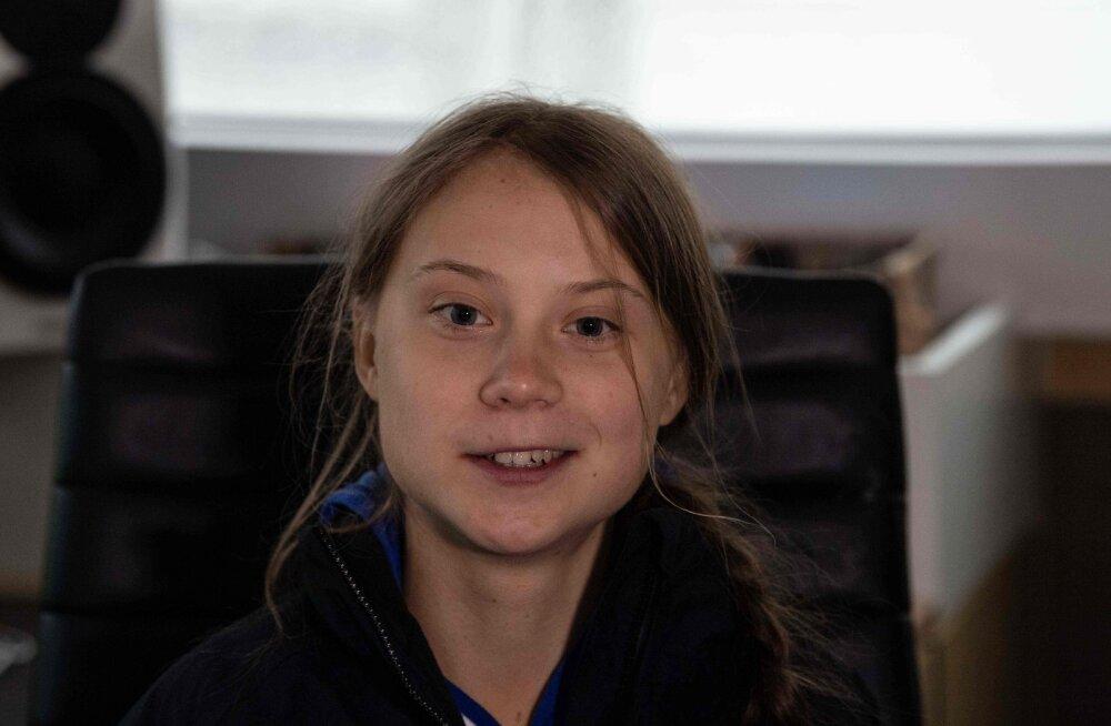 Kõhedust tekitav vana pilt on interneti kihama löönud: kahtlustatakse, et Greta Thunberg on ajarändur