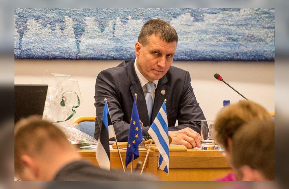 Tallinna Linnavolikogu istung, Toomas Vitsut