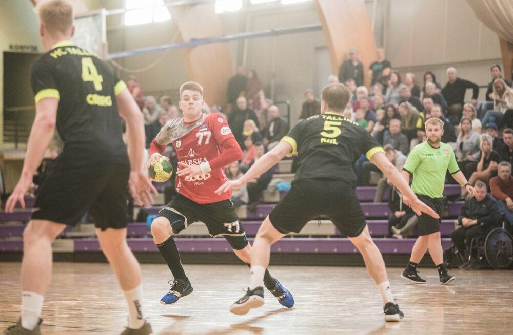 Käsipalli meistriliiga finaalseeria 15.05.19 Põlva Serviti – HC Tallinn