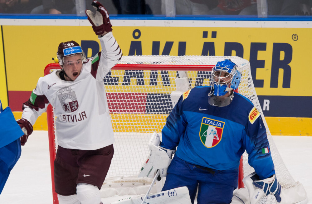 Läti - Itaalia jäähoki